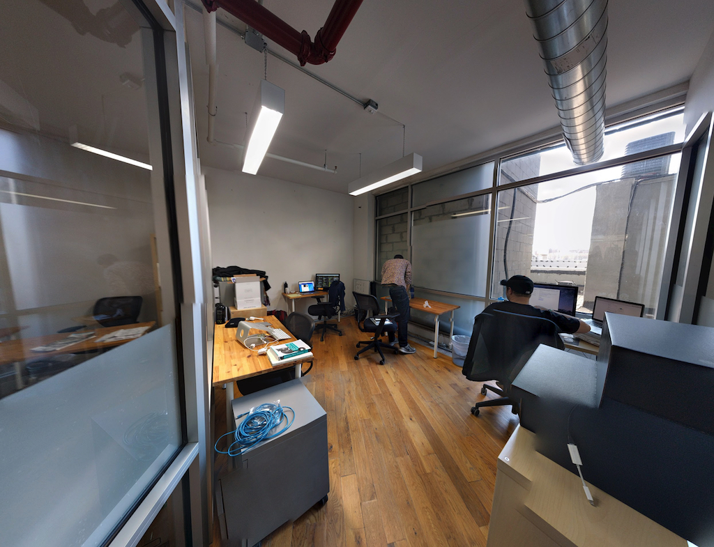 Moving to a smaller office in our Brooklyn co-working space. A painful visual metaphor for the company's recent struggles.